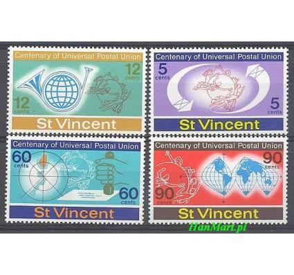 Znaczek St. Vincent 1974 Mi 354-357 Czyste **