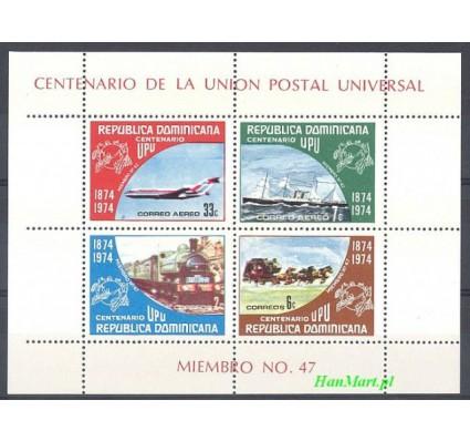 Znaczek Dominikana 1974 Mi bl 37 Czyste **