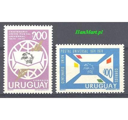 Znaczek Urugwaj 1974 Mi 1321-1322 Czyste **