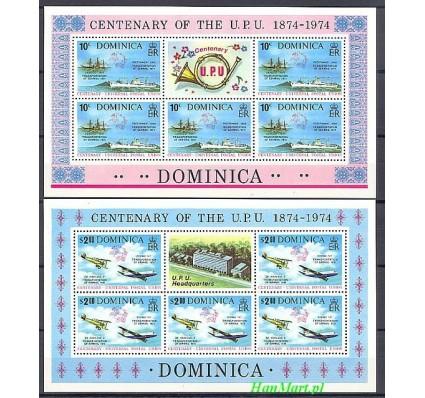 Znaczek Dominika 1974 Mi 417-418 Czyste **