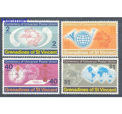 Znaczek Grenadines of St Vincent 1974 Mi 24-27 Czyste **