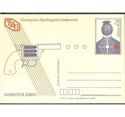 Znaczek Polska 1989 Fi Cp 998 Całostka pocztowa