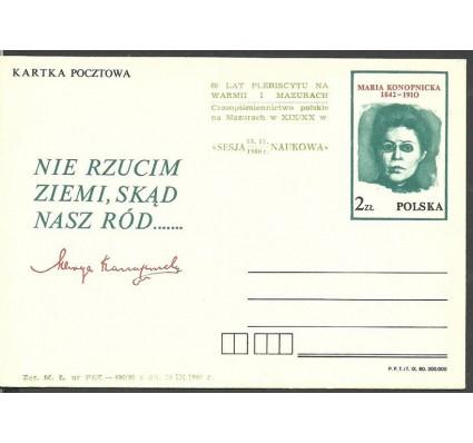Znaczek Polska 1980 Fi Cp 768 Całostka pocztowa