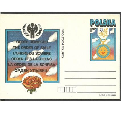 Znaczek Polska 1979 Fi Cp 726 Całostka pocztowa