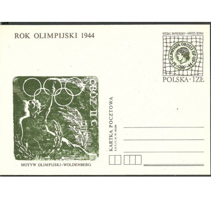 Znaczek Polska 1979 Fi Cp 721 Całostka pocztowa