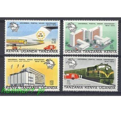 Znaczek Uganda Tanzania Kenia 1974 Mi 279-282 Czyste **