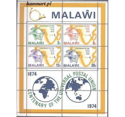 Znaczek Malawi 1974 Mi bl 36 Czyste **