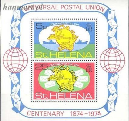 Znaczek Wyspa św. Heleny 1974 Mi bl 1 Czyste **