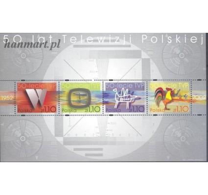Znaczek Polska 2002 Mi bl 154 Fi bl 183 Czyste **