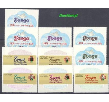Znaczek Tonga 1974 Mi 489-498 Czyste **