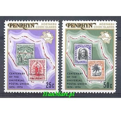 Znaczek Penrhyn 1974 Mi 56-57 Czyste **