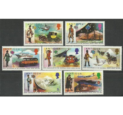 Znaczek Antigua i Barbuda 1974 Mi 323-329 Z podlepką *