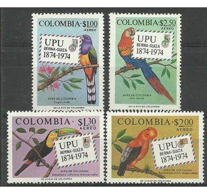 Znaczek Kolumbia 1974 Mi 1275-1278 Z podlepką *