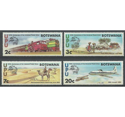 Znaczek Botswana 1974 Mi 110-113 Z podlepką *