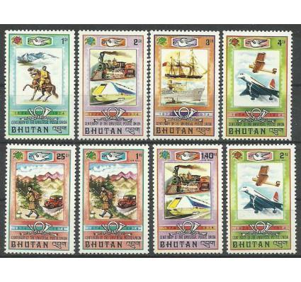 Znaczek Bhutan 1974 Mi 592-599 Z podlepką *