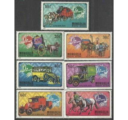 Znaczek Mongolia 1974 Mi 909-915 Czyste **