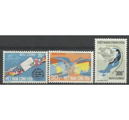 Znaczek Wietnam 1974 Mi 572-574 Czyste **