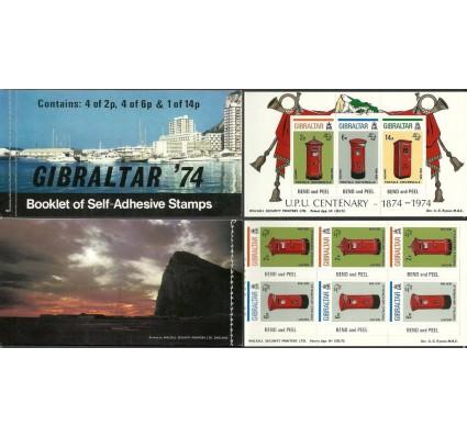Znaczek Gibraltar 1974 Mi mh 310-312B Czyste **