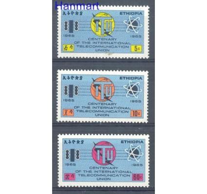 Znaczek Etiopia 1965 Mi 500-502 Czyste **