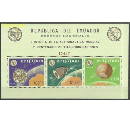 Znaczek Ekwador 1965 Mi bl 14 Czyste **