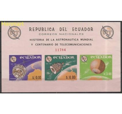 Znaczek Ekwador 1965 Mi bl 15 Czyste **