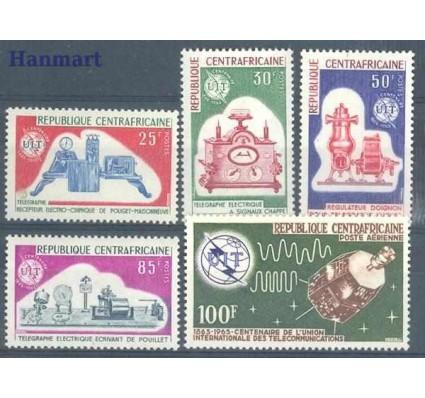 Znaczek Republika Środkowoafrykańska 1965 Mi 78-82 Czyste **