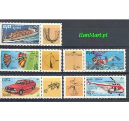 Znaczek Kambodża 1992 Mi 1288-1292 Czyste **