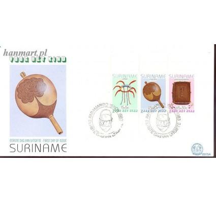 Znaczek Surinam 1983 Mi bl 36 FDC