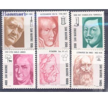 Znaczek San Marino 1983 Mi 1271-1276 Czyste **