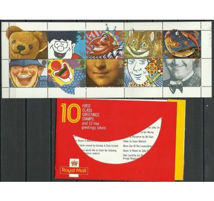 Znaczek Wielka Brytania 1990 Mi mh 1251-1260 Czyste **