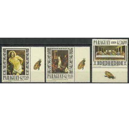 Znaczek Paragwaj 1967 Mi 1687-1689 Czyste **