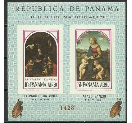 Znaczek Panama 1966 Mi bl 50 Czyste **