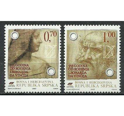 Znaczek Republika Serbska 2007 Mi 382-383 Czyste **