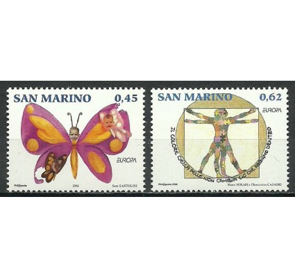 Znaczek San Marino 2006 Mi 2261-2262 Czyste **