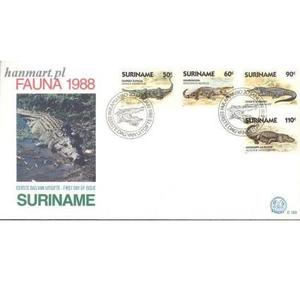 Surinam 1988 Mi 1248-1251 FDC