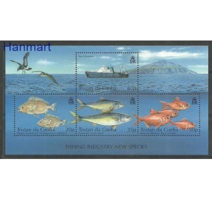 Znaczek Tristan da Cunha 2002 Mi bl 41 Czyste **