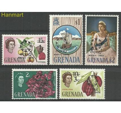 Znaczek Grenada 1967 Mi 228-232 Czyste **