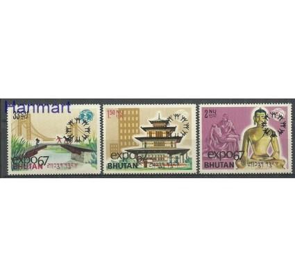 Znaczek Bhutan 1967 Mi 149-151 Czyste **