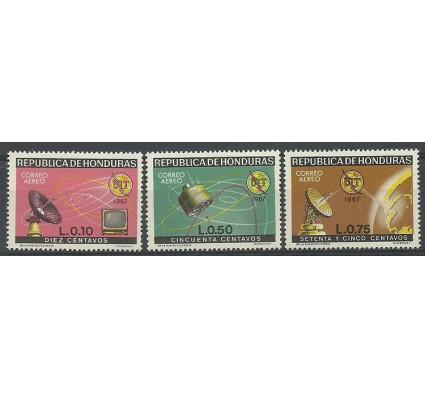 Znaczek Honduras 1968 Mi 723-725 Czyste **