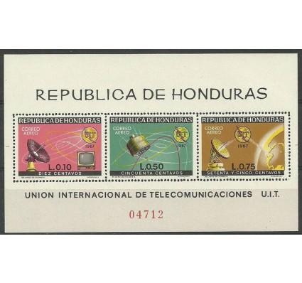 Znaczek Honduras 1968 Mi bl 11 Czyste **