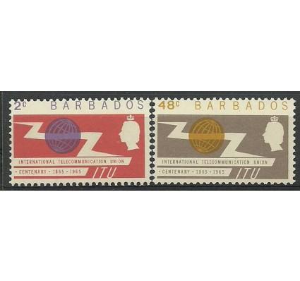 Znaczek Barbados 1965 Mi 233-234 Czyste **