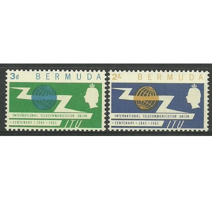 Znaczek Bermudy 1965 Mi 185-186 Czyste **