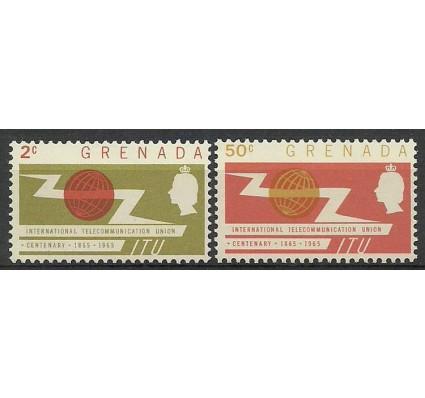 Znaczek Grenada 1965 Mi 192-193 Czyste **