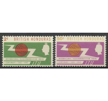 Znaczek Honduras Brytyjski 1965 Mi 184-185 Czyste **