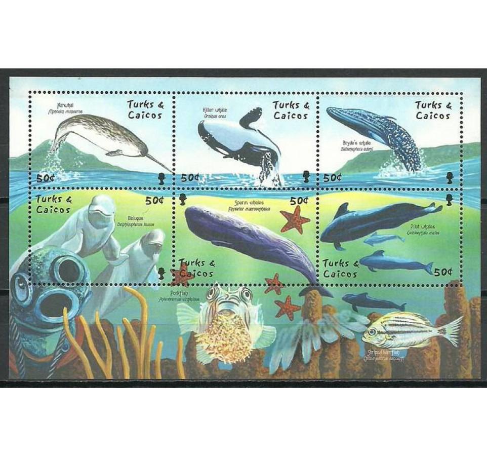 Turks i Caicos 2001 Mi ark 1604-1609 Czyste **
