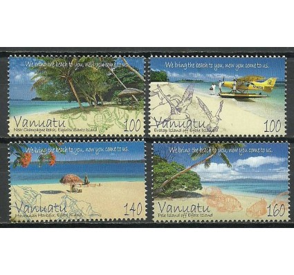 Znaczek Vanuatu 2011 Mi 1451-1454 Czyste **