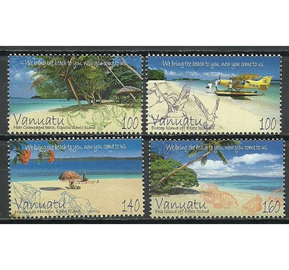 Vanuatu 2011 Mi 1451-1454 Czyste **