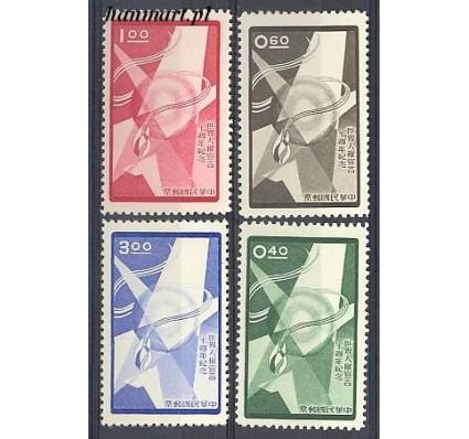 Tajwan 1958 Mi 308-311 Czyste **