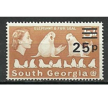 Znaczek Georgia Południowa i Sandwich Południowy 1971 Mi 37 Czyste **