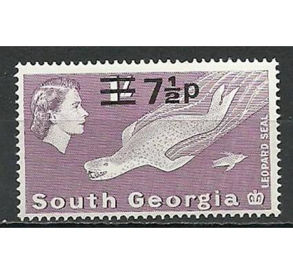 Znaczek Georgia Południowa i Sandwich Południowy 1971 Mi 34 Czyste **